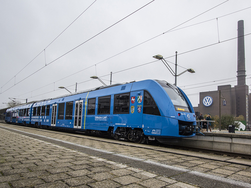 Hydrogen Trains could fuel new infrastructure investment