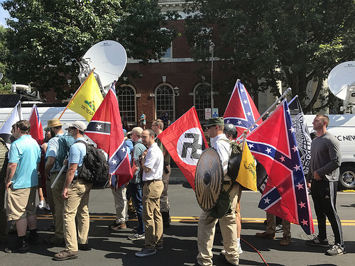 What if One of Your Employees was Shown on the News Marching with White Supremacists?