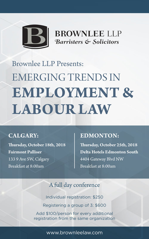 Emerging Trends in Employment & Labour Law