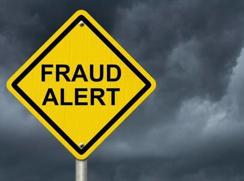 Blame it on the fraudsters