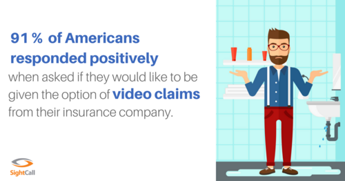 Do you offer live video claims? If not, prepare to be disrupted.
