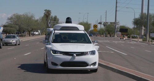 First look inside self-driving taxis as Waymo prepares to launch unprecedented service