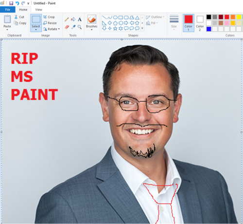 Microsoft Paint Saved!