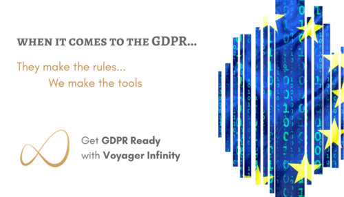 Voyager Infinity - Now GDPR Ready!