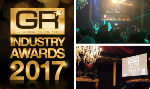 Putting on the glitz for the Global Recruiter Awards