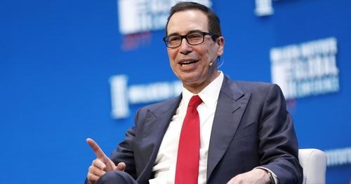 Treasury Secretary Mnuchin Comments on Bitcoin