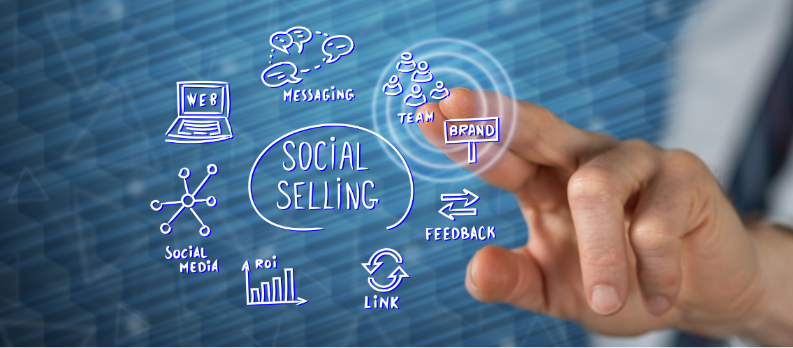 Social Selling all starts to come together...