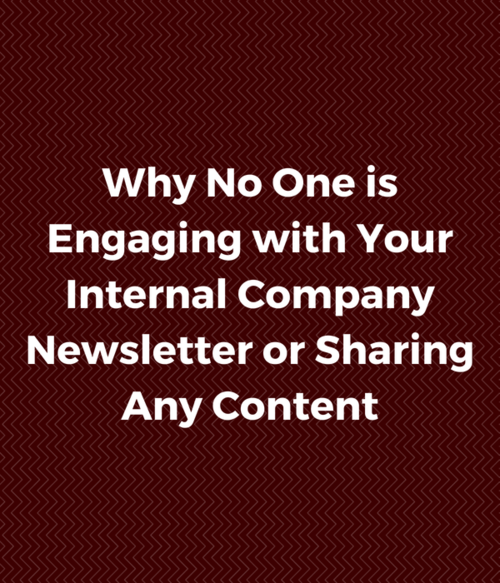 Why No One is Engaging with or Sharing Your Company Content