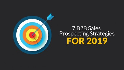 B2B Sales Prospecting Strategies for 2019 - there's only one clear winner.