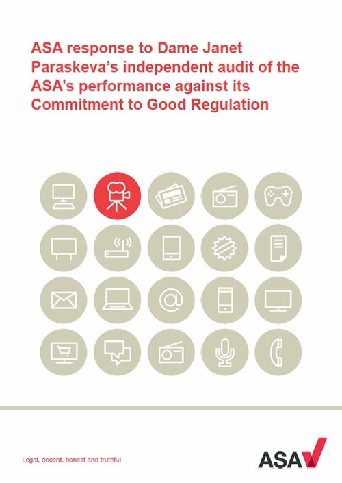 ASA responds to audit of its performance. Well, nearly...