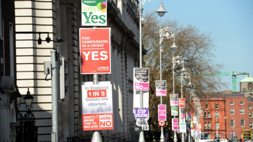 Irish abortion referendum produces toxic mix of politics and advertising
