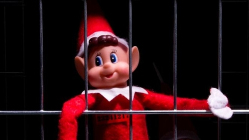 Poundland's naughty elf put back on the shelf