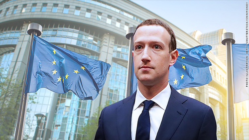 Facebook CEO likely to face tough questions on privacy by the European Parliament