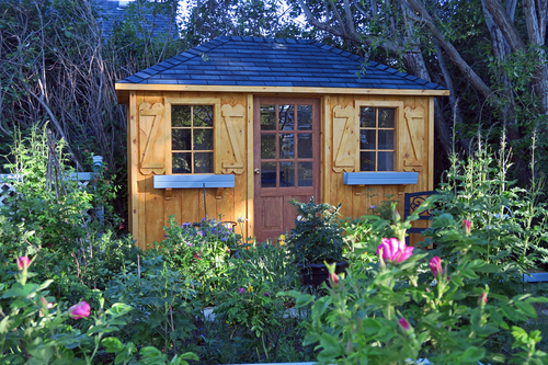 Q. When is an extension not an extension? A. When it is a garden room a finger width away from the dwelling.
