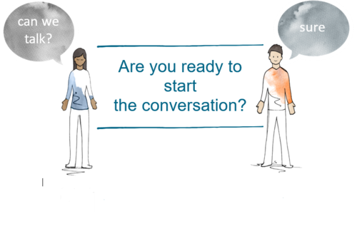 Are you ready to start the conversation?