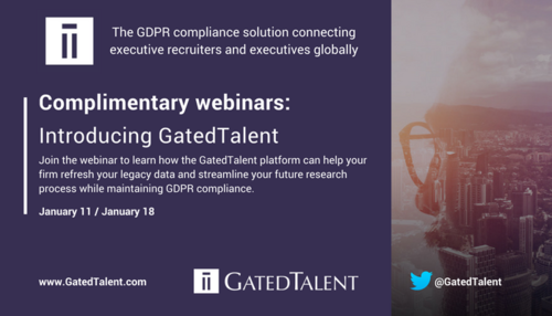 Introducing the GDPR compliance platform that allows executive recruiters to connect with top talent