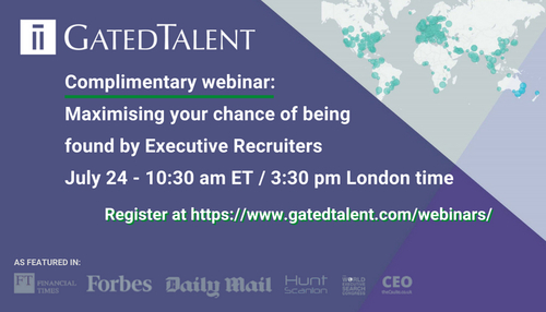 Maximising Your Chance of Being Found by Executive Recruiters