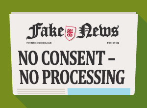 Explicit consent is not necessary when you have a lawful basis for processing data.