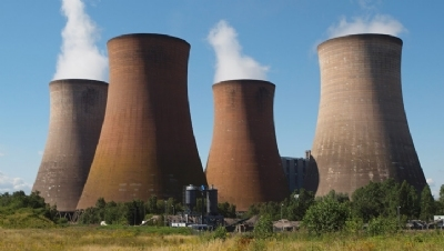 Change in UK fuel mix for power generation