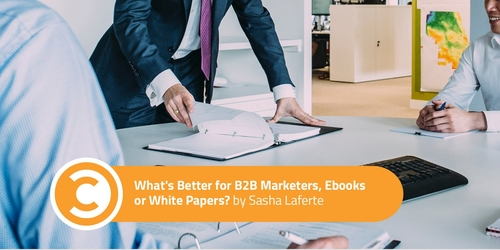 eBooks v White Papers for B2B Marketing