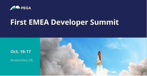 Pega Developer Summit 16th - 17th October