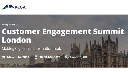 Customer Engagement Summit - London