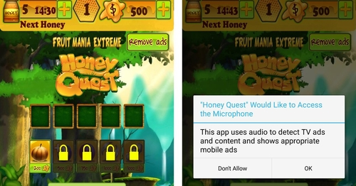 Game Apps Listen While You Watch Television