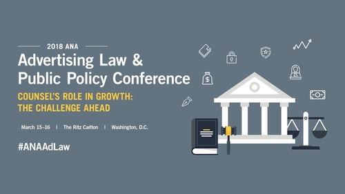 Frankfurt Kurnit Lawyers to Speak at ANA Advertising Law & Public Policy Conference in D.C.