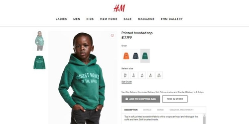 H&M Pulls Ad After Racism Allegations