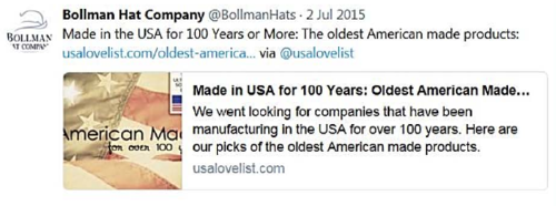 Hat Company Settles With FTC Over