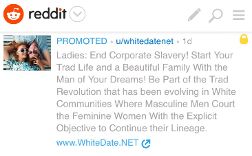 Reddit Removes Racist Ad and Apologizes