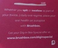 Brushbox Apologies for