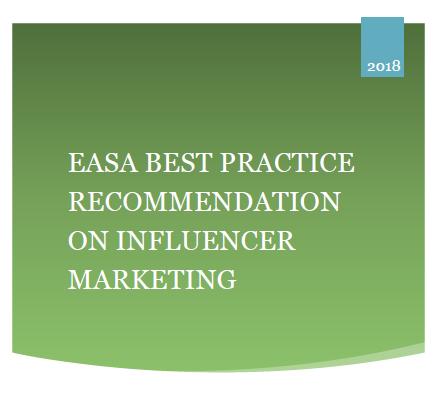 European Advertising Standards Alliance Releases Guidelines on Influencer Marketing
