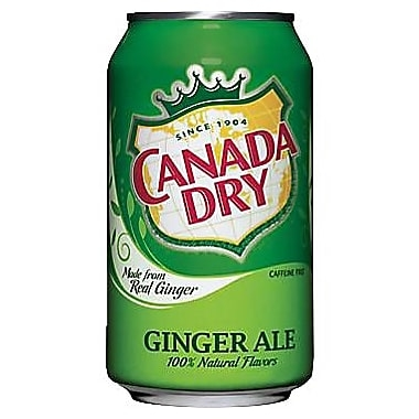 Does Canada Dry Ginger Ale Have