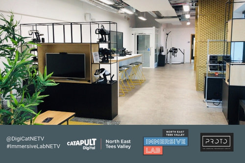 Digital Catapult NETV Immersive Lab: 1 year on!