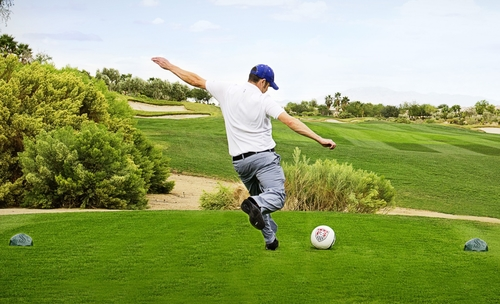 What else can you do on a golf course?