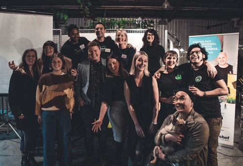 Winners of the Holy Shiitake New Business Pitch Night on 26 June 2018