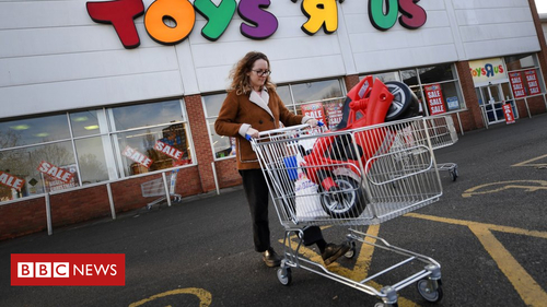 End of an era, Toys R Us UK are in administration