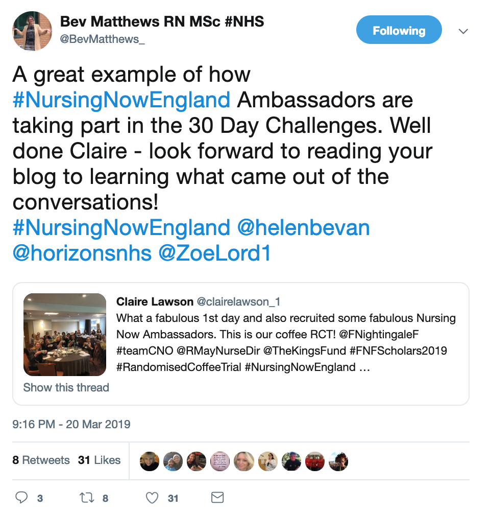 Tweets of the Week, 22nd March 2019, NHS Horizons