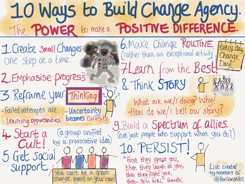 The Power to Make A Positive Difference