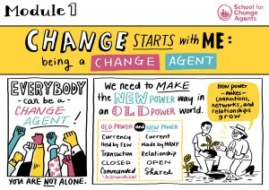 Change begins with me: module one of The School for Change Agents