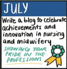 A reflection on the first week of Transforming Perceptions of Nursing and Midwifery's Blogging Challenge