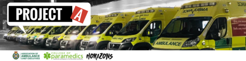 Help Improve Ambulance Services - join the #ProjectA Ideas Platform