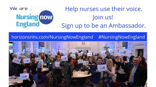 Nurses Unite for the Launch of Nursing Now England