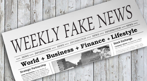 Fake news in business