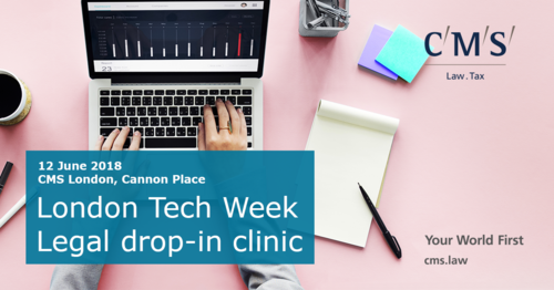 CMS Legal Drop-in Clinic - 12th June