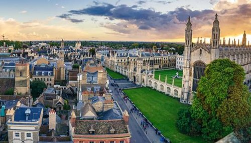 Cambridge has more patents published per resident than any other UK city