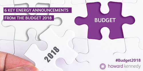 6 Key Energy Announcements from the Budget 2018