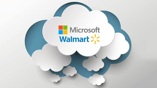 Microsoft and Walmart Sitting In a Tree