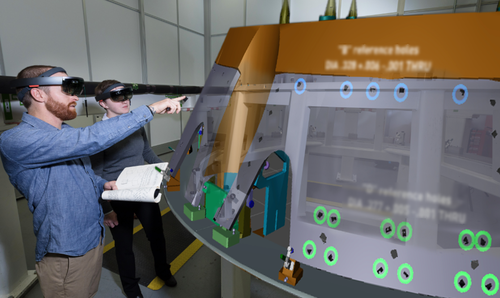 NASA relying on Augmented Reality to build spacecrafts